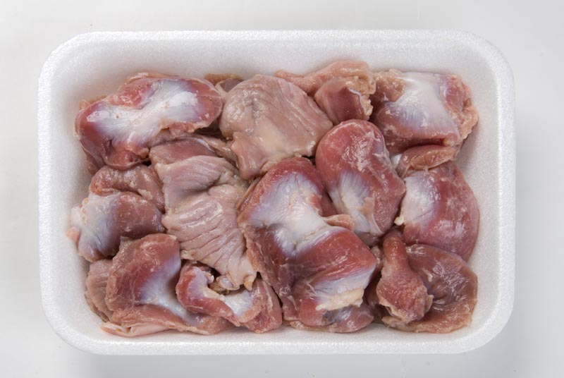 Frozen chicken gizzards