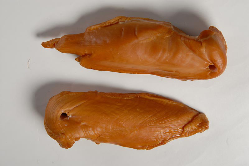 Boiled-and-smoked chicken fillet