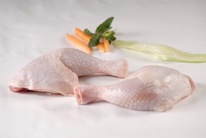 Chicken thighs frozen / chilled